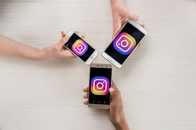A person posing for the Instagram